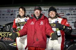 Antoine L'Estage et John Buffum au départ du Rallye de Charlevoix ! | PolePosition.ca