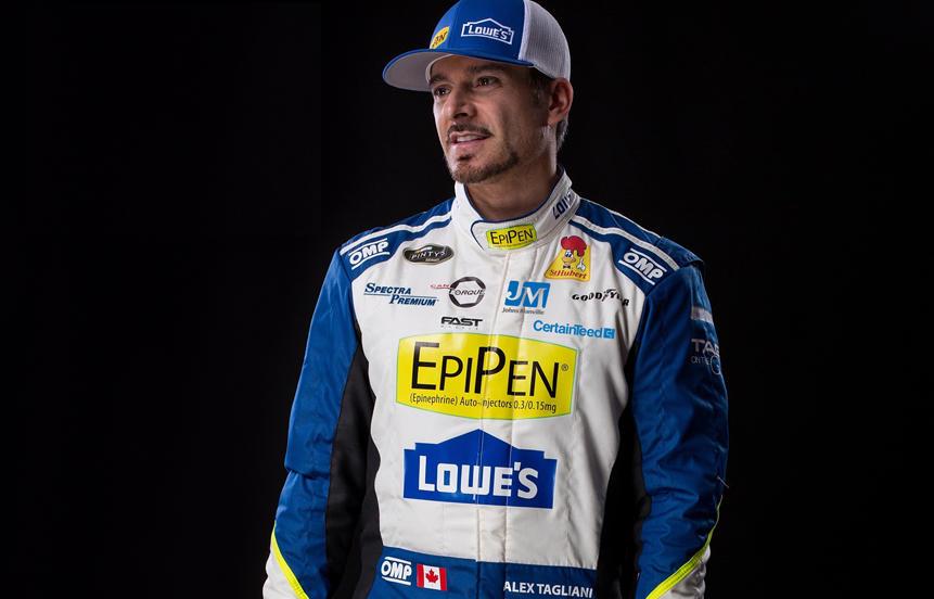 Tagliani au départ de la course d'ouverture NASCAR Pinty's : Une 1ère en 4 ans ! | PolePosition.ca
