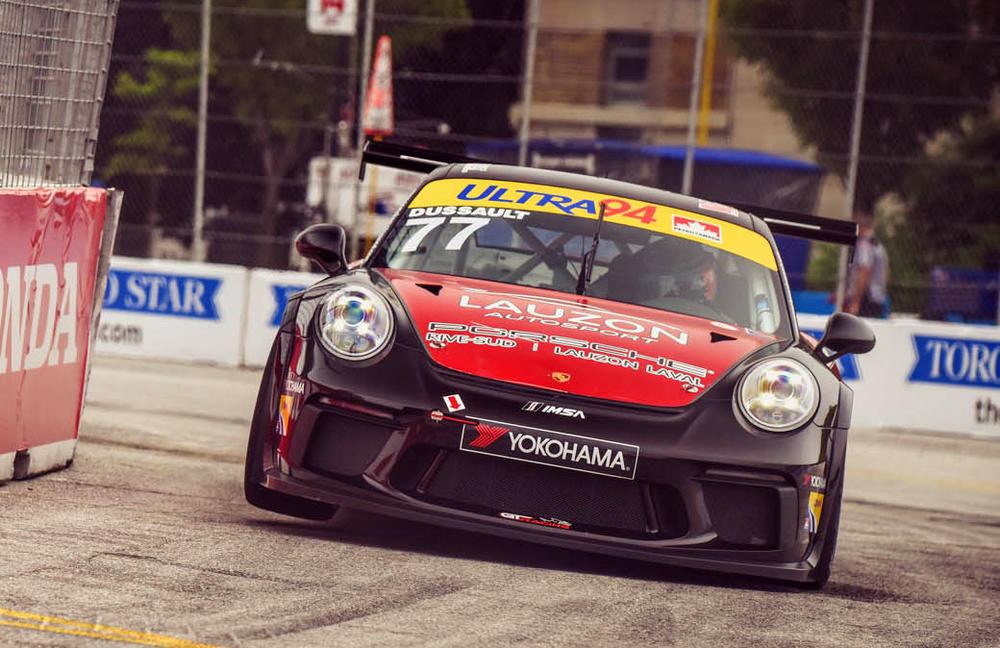 Un premier podium en Coupe Porsche GT3 Canada pour Patrick Dussault à Toronto | PolePosition.ca