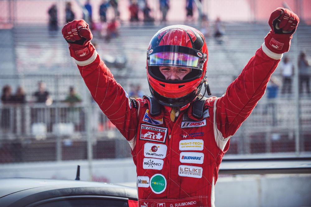 Entrevue Gianmarco Raimondo : Du GP2 à la Porsche GT3 canadienne | PolePosition.ca
