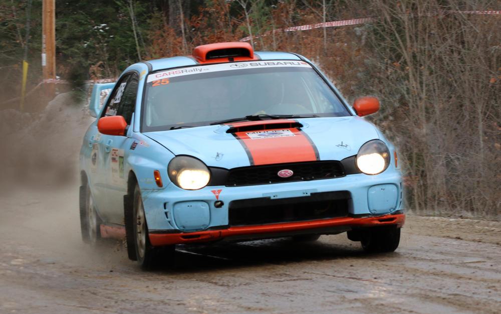CREC : Les Ontariens Laurens Wit et Jonathan Cox remportent le Black Bear Rally | PolePosition.ca