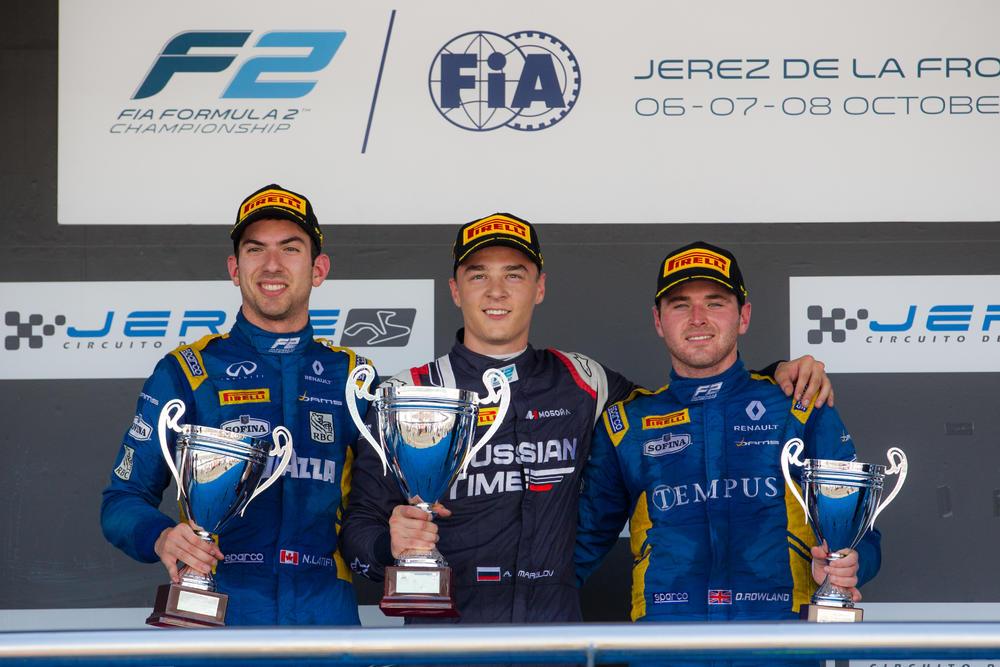 Formule 2 : Un nouveau podium pour Nicholas Latifi | PolePosition.ca