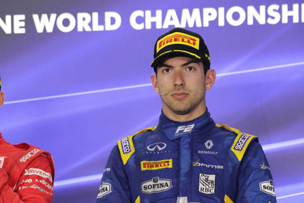 Formule 1... et Formule 2 pour le Torontois Nicholas Latifi cette saison !   PolePosition.ca