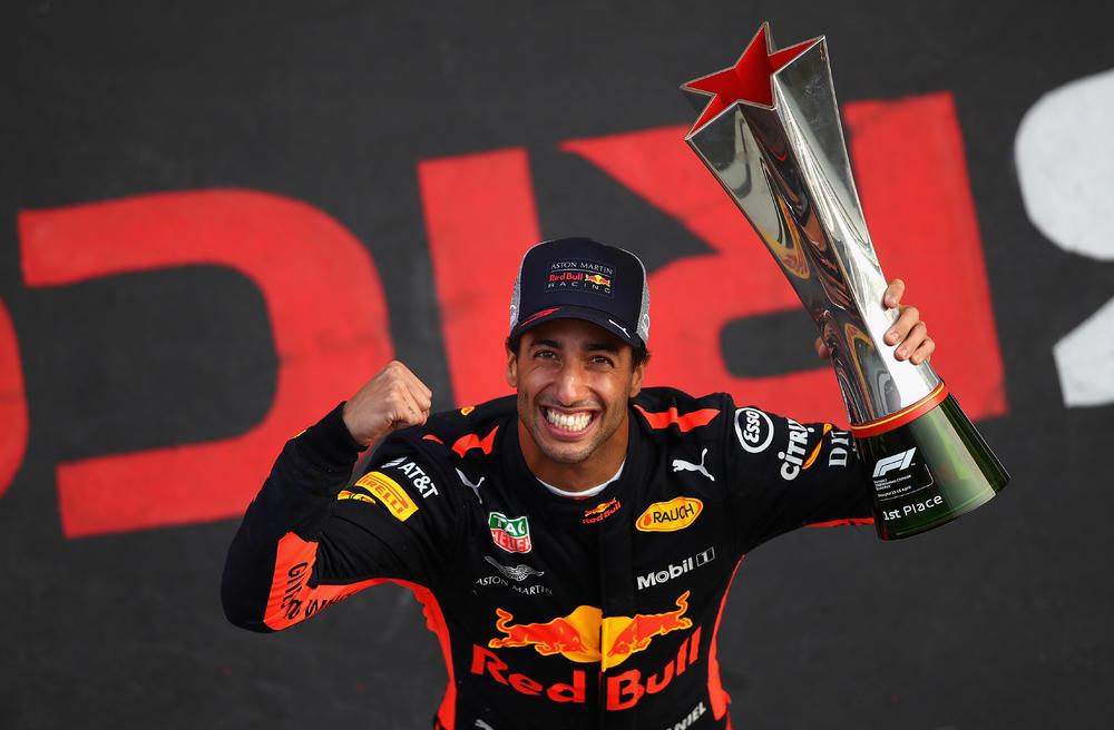 F1 : Victoire de Daniel Ricciardo en Chine; et une autre 14ème place pour Lance Stroll !    PolePosition.ca