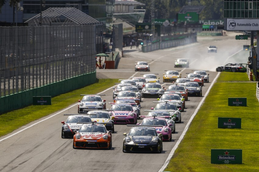 Supercup Porsche, Formule 2 et F3 internationale officialisent