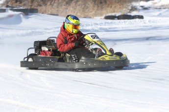 Karting sur neige a SH Karting