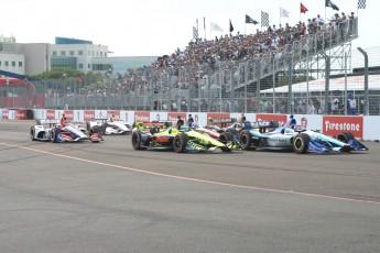Grand Prix St-Petersburg (IndyCar et séries soutien) - Dimanche