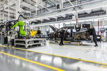 Visite de la chaîne de montage Lamborghini Urus