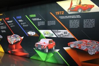 Musée de la technologie Lamborghini