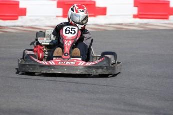 Go kart on ice événement Nicolas Barrette
