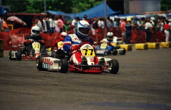 Retour dans le passé - Karting dans les rues de Ste-Agathe en 1991