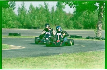 Retour dans le passé - Karting à St-Hilaire en 1989