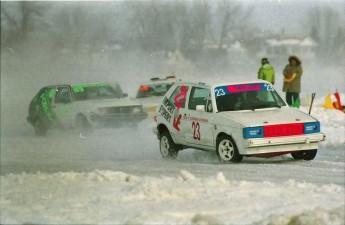 Retour dans le passé - Valleyfield  - Courses sur glace - 1994
