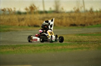 Retour dans le passé - Karting à St-Hilaire en 1992