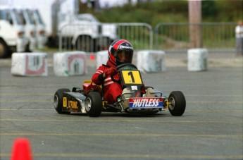Retour dans le passé - Karting au Marché central de Montréal en 1992