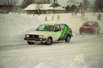 Retour dans le passé - Courses sur glace à Lachine en 1993