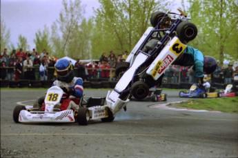 Retour dans le passé - Karting à St-Hilaire en 1997