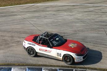 Mazda MX5 Cup à Sebring