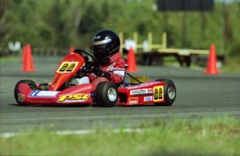 Retour dans le passé - Karting à Grand-Mère en 1999