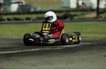 Retour dans le passé - Karting à Pointe-du-Lac 1999