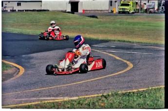Retour dans le passé - Karting à St-Hilaire en 1990