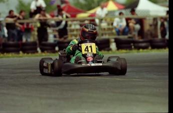 Retour dans le passé - Karting à St-Hilaire en 1998