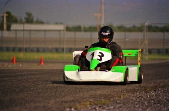 Retour dans le passé - Karting à Sanair en 1991
