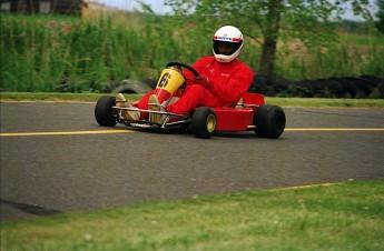 Retour dans le passé - Karting à St-Hilaire en 1991