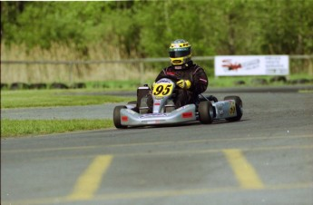 Retour dans le passé - Karting à St-Hilaire en 2000