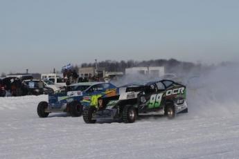Courses sur glace a Beauharnois (10 février )
