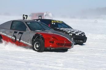 Courses sur glace a Beauharnois (16 février )
