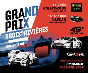 Grand Prix de Trois-Rivières 2018!
